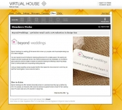 Virtual House website